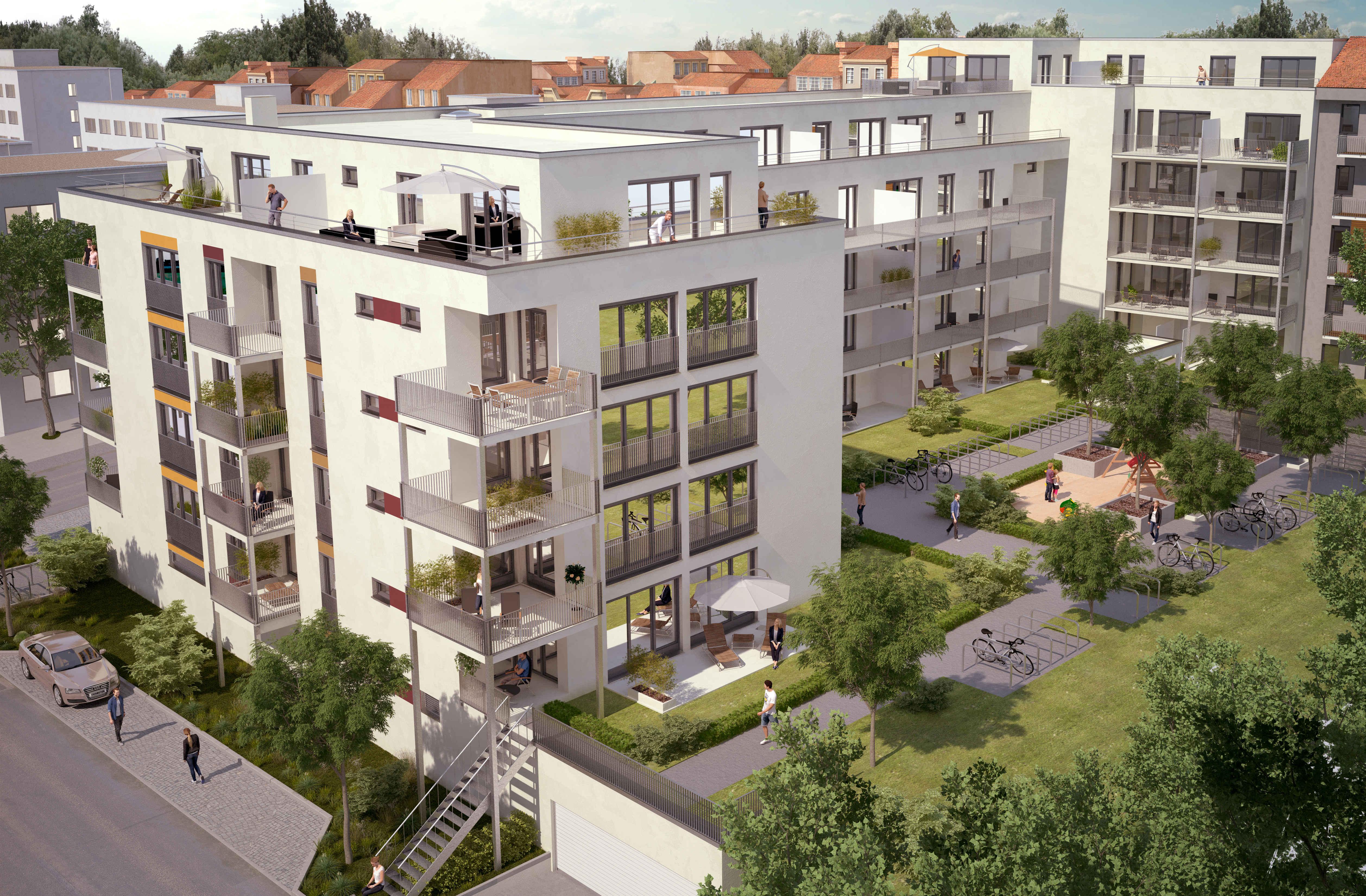 1 - 3 Zimmer Wohnungen in Fürth